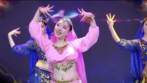 歌手肖洋《天竺少女》歌舞片舞台照曝光清纯美丽资讯生活